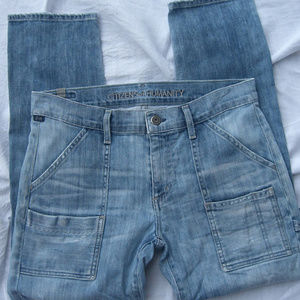 CITIZENS of HUMANITY Light Distressed Jeans SZ 27